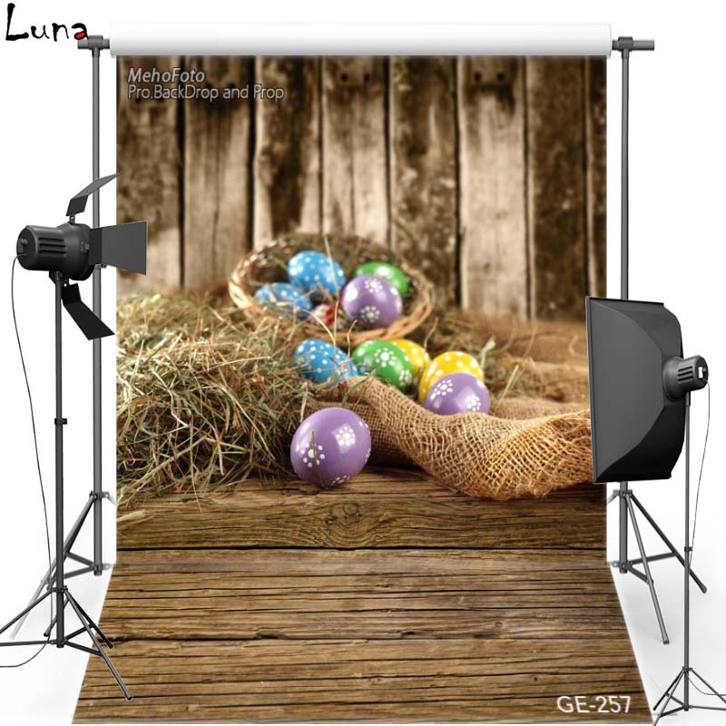 MEHOFOTO Happy Easter Vinyl Photography Background For Newborn Egg New Fabric Flannel Backdrop For Baby photo studio Props 257 new promotion newborn photographic background christmas vinyl photography backdrops 200cm 300cm photo studio props for baby l823