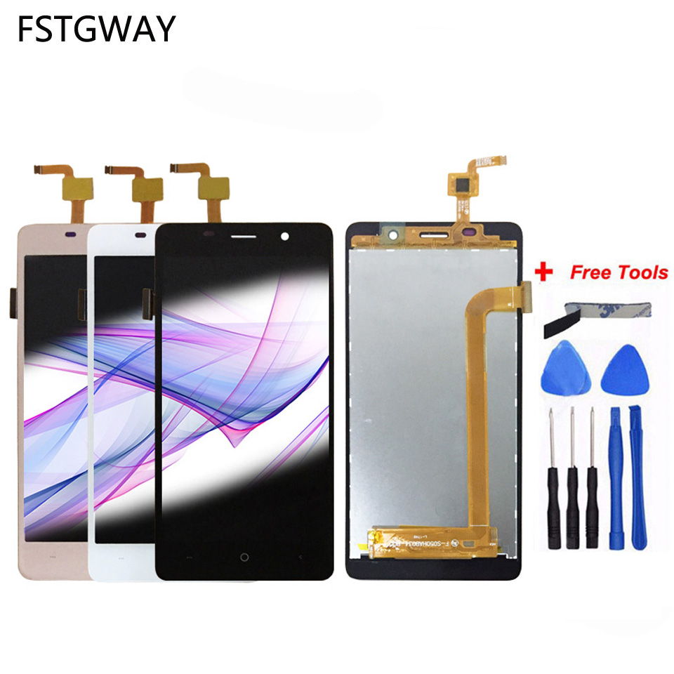 FSTGWAY For Leagoo M5 LCD Display and Touch Screen 100% tested Screen Digitizer Assembly Repair Parts