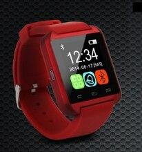 Digital-uhr drahtlose bluetooth smart watch uu sport pedometer freisprecheinrichtung smartwatch u80 armband für android-handy wandern