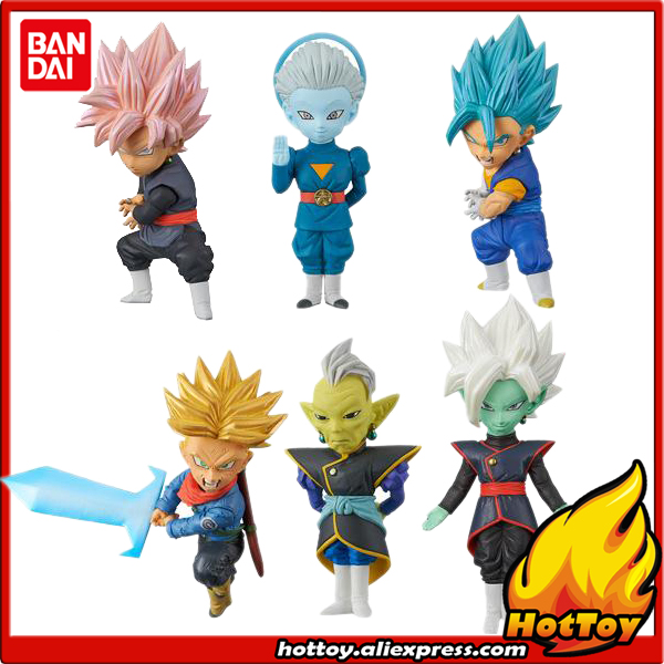Banpresto World Collectable Figure WCF Collection Figure Vol.7 - Set of 6 Pcs Vegetto Goku-Black Trunks Zamasu Dragon Ball SUPER powers the definitive hardcover collection vol 7