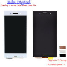 Original LCD Display with Touch Screen Digitizer Assembly For Sony Xperia Z3 L55T L55U D6603 D6653 D6633 Housing Cover