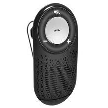 цена на Car Bluetooth Kit Handsfree Noise Cancelling Bluetooth Receiver Car Speakerphone Multipoint Clip Sun Visor for Connect 2 Phones