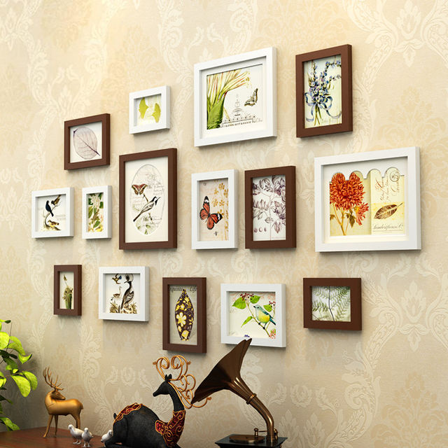 Online Shop New Year Home Decoration Family Photo Frame Set, Cheap ...