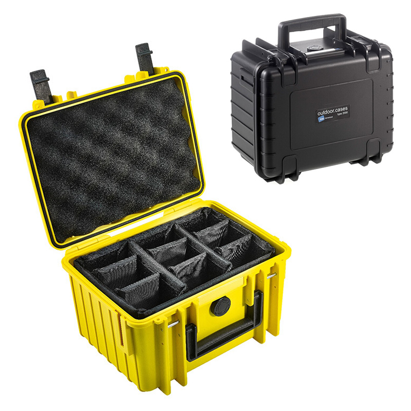 Roadfisher Waterproof Shockproof Case Moistureproof Seal Dry Protection Box Insert For Camera Lens Photography Gear Tool Drone