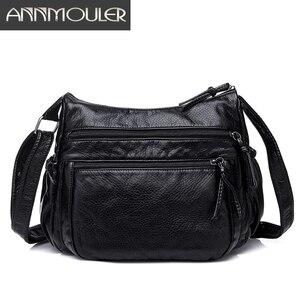 Annmouler Brand Women Bags Pu