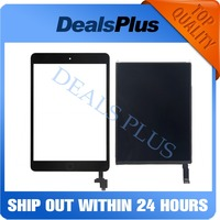 Replacement New LCD Display +Touch Screen with Home Button + IC Connector For iPad Mini 2 A1489 A1490 A1491