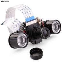 Sale For Raspberry Pi Camera, Miroad 5MP 1080p OV5647 Sensor Mini Camera Video Module IR-CUT for Raspberry Pi 3 2 1 B B+ A A+ A QSC16