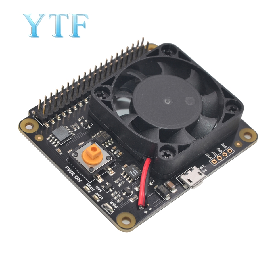 Raspberry Pi X730 Automatic Cooling + Safe Shutdown + Power Management Expansion Board