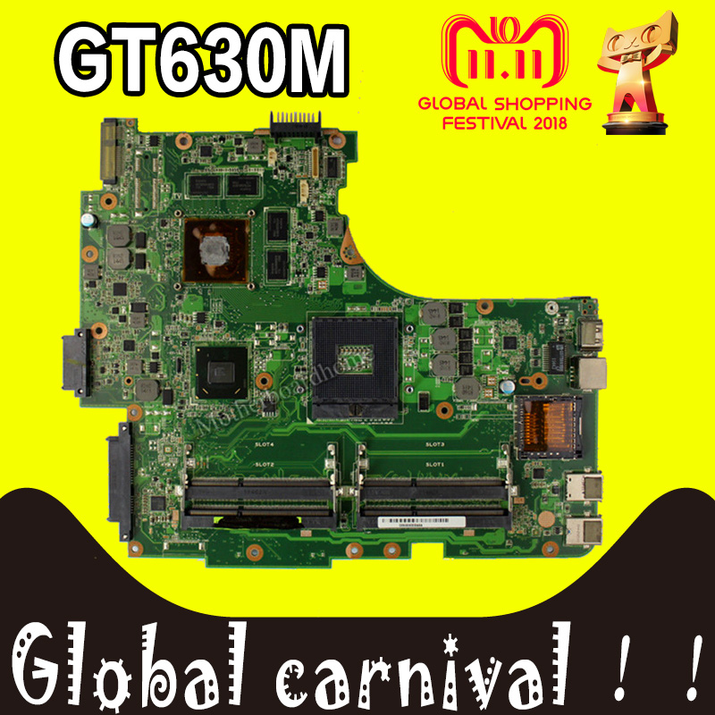 GT630M 4*sLots N53SM Motherboard REV:2.2 For ASUS N53SN N53SM N53S laptop Motherboard N53SV Mainboard N53SV Motherboard test OK laptop motherboard n53sv n53sn for asus n53s n53sn n53sm with geforce gt550m 2g ddr3 4 ram solts rev2 0 2 2 tested ok