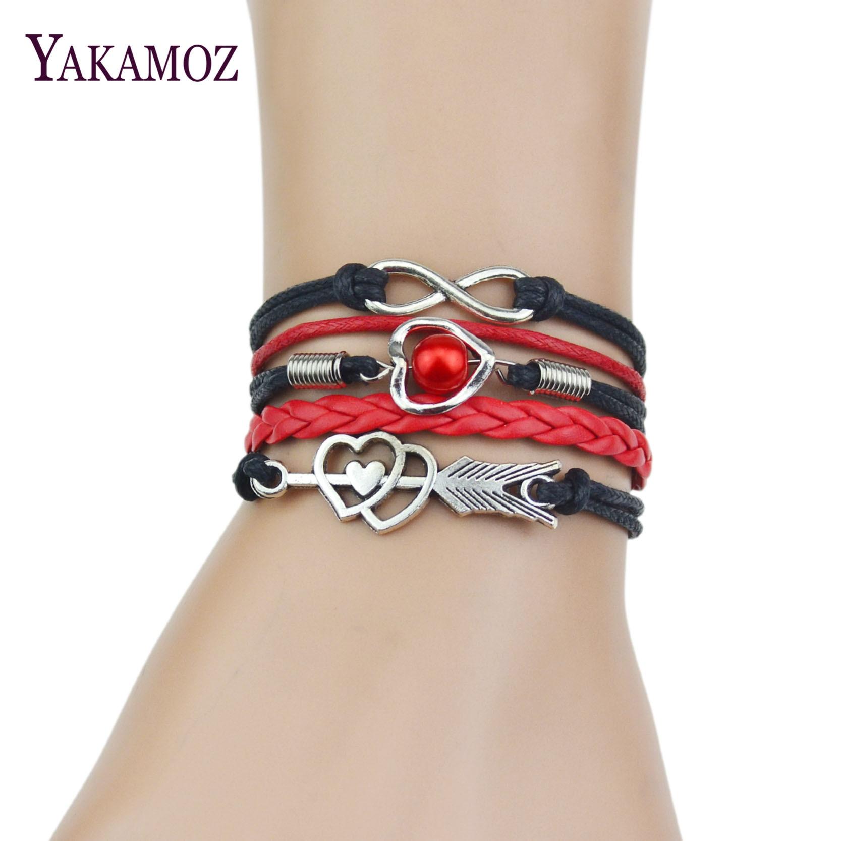 Online Get Cheap Leather Cuff Bracelet For Women Aliexpress