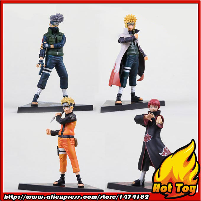 Banpresto Shinobi Relations assort:A Figure - UZUMAKI NARUTO & NAMIKAZE MINATO & SASORI & HATAKE KAKASHI from NARUTO Shippuden 21cm naruto hatake kakashi pvc action figure the dark kakashi toy naruto figure toys furnishing articles gifts x231