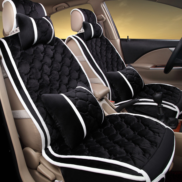 New 3D Sport Car Seat Cover General CushionVelvetCar Styling For BMW Audi