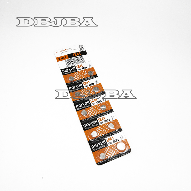 Computer Cables & Connectors Well-Educated 10pcs 1.5v Panasonic Lr41 192 Button Cell Alkaline Batteries