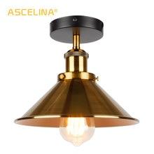 Промышленный потолочный светильник, винтажный потолочный светильник, Ретро стиль, лофт, потолочный светильник, светильник в американском стиле