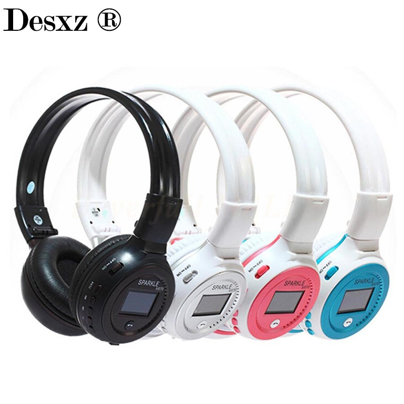 Desxz B570 Wireless Headphones Bluetooth Handsfree Stereo Folding Over-ear with Mic LCD FM Radio TF Slot for iPhone phone desxz b570 wireless headphones bluetooth handsfree stereo folding over ear with mic lcd fm radio tf slot for iphone phone