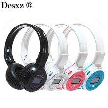 Desxz B570 Беспроводной наушники громкой связи Bluetooth Стерео складной Over-Ear с микрофоном ЖК-дисплей FM радио TF слот для Iphone телефон