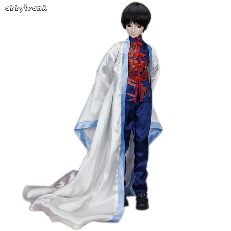 19 Jointed BJD Doll 60cm Large 1/3 Boy Prince Doll 23 Inch BJD Joint Moving SD BJD Toy With Wig Shoes Clothes Makeup For Kids synthetic bjd wig long wavy wig hair for 1 3 24 60cm bjd sd dd luts doll dollfie cut fringe