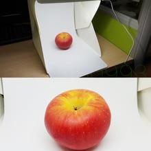 S M L size Mini Folding Studio Diffuse Soft Box With LED Lig