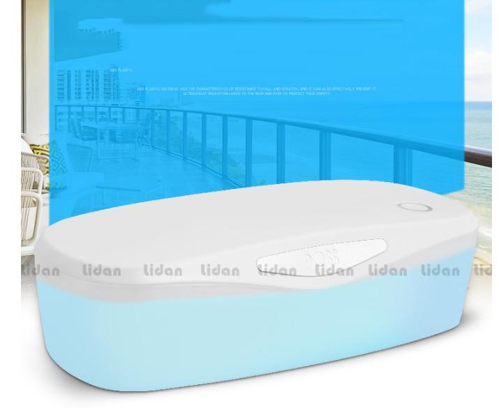Desinfektion Schränke Uv Nagel Sicherheit Sterilisation Schränke Usb Sterilisation Rate 99.99% 120 S Timing Make-up Werkzeuge Körperpflege Geräte Geschickte Herstellung