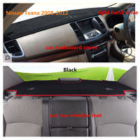 Taijs Factory Car Dashboard Cover And Car Rear Window Mat For Nissan Teana 2008 2012 With
