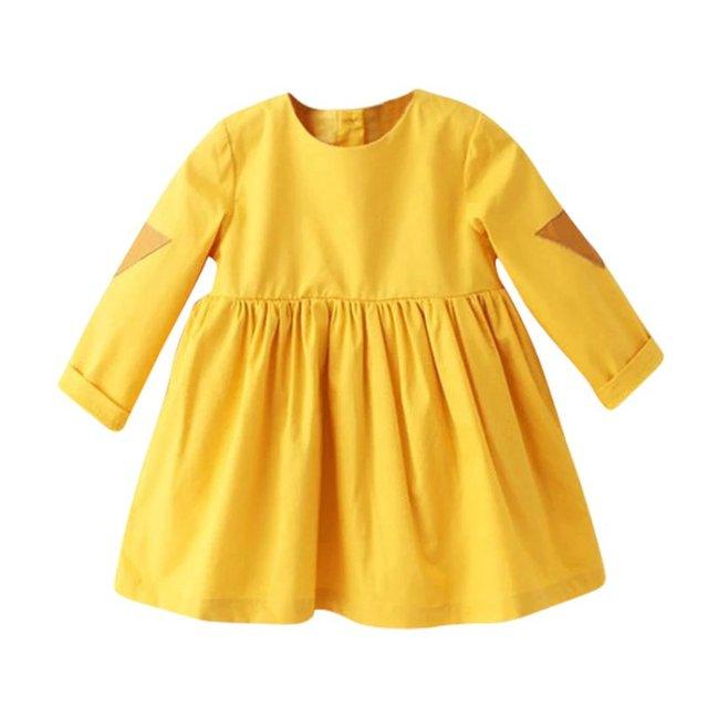 Chaude De Mode Enfants Bébé Filles Robe De Bal Solide Tutu Princesse Robes Vêtements Pour Enfants 2-7Y