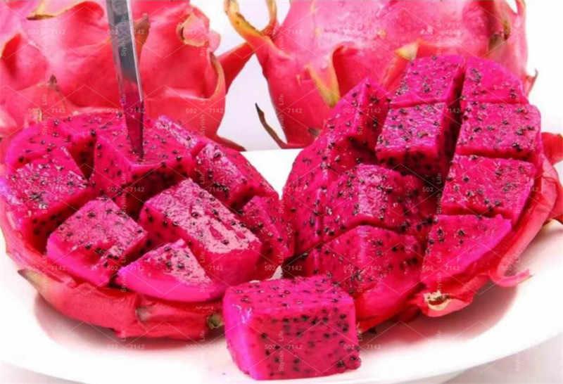 500 шт Редкие красное сердце Pitaya бонсай Дракон фруктовый сад для деревьев бонсай для фруктов-дерево-растения вкусные тропические фрукты Емкость