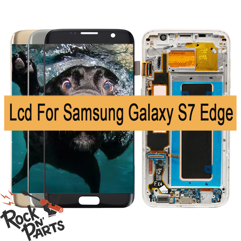 display assembled with touchscreen front Frame and button Home for Samsung for Galaxy S7 Edge DS SM-G935FD 5.5+free tooldisplay assembled with touchscreen front Frame and button Home for Samsung for Galaxy S7 Edge DS SM-G935FD 5.5+free tool