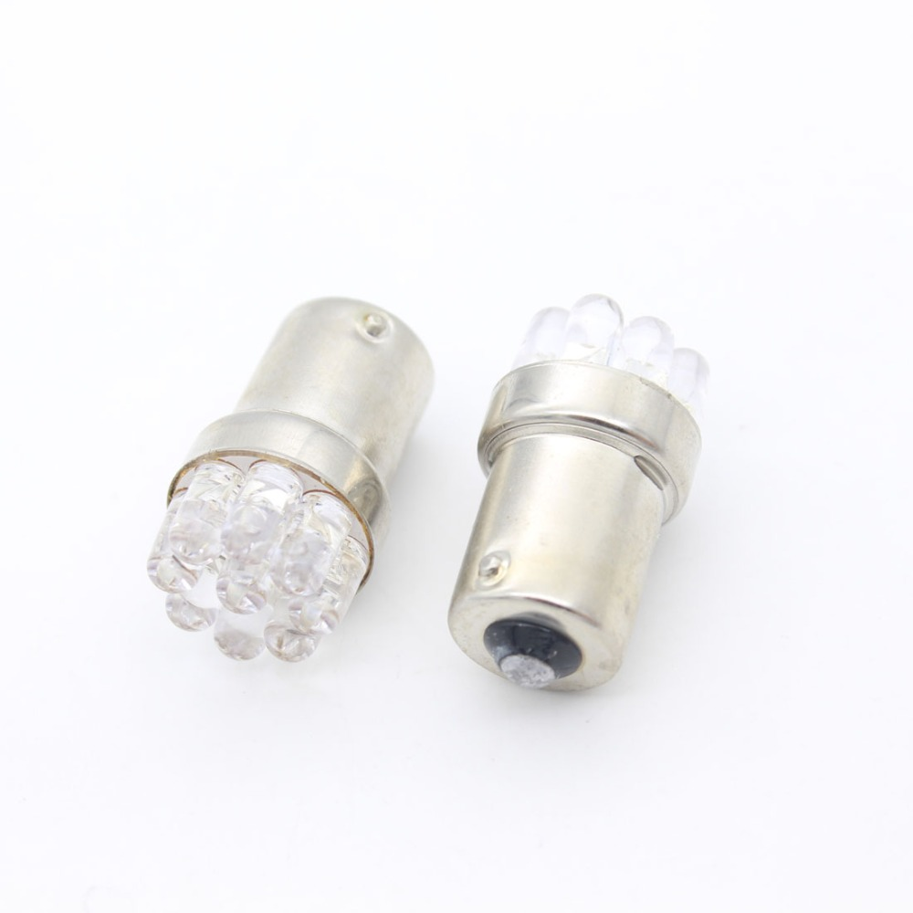 Dongzhen Car Moto 1156 BA15S 9 LED P21W R5W Turn Signal Tail Brake Light Auto S25 Reverse Fog DRL Stop Bulb Lamp Xenon White купить