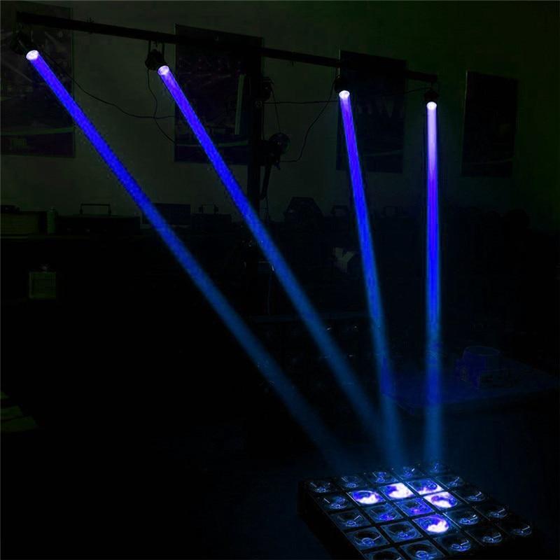 1W RGB LED Beam Spotlight Stage Light Ball Rotating Pinspot Lamp For DJ Disco Bar KTV Party Stage Lighting Effect