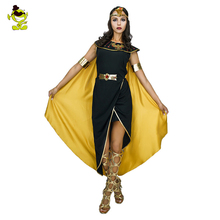 Ancient Egyptian Costumes Pharaoh Empress Cleopatra Queen Priest Halloween Cosplay Clothing for Women's Fancy Dress Outfits