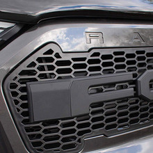 Raptor Grille ดัดแปลงย่างด้านหน้ากันชน Fit สำหรับ RANGER 2015 2018 T7 PX2 MK2 XL XL + XLS XLT จำกัด WILDTRAK Pickup รถบรรทุก