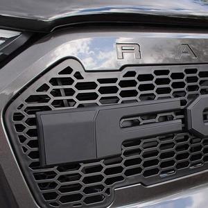 Image 1 - Raptor Grille Modified Grill Front Bumper Mesh Fit For RANGER 2015 2018 T7 PX2 MK2 XL XL+ XLS XLT Limited WILDTRAK Pickup Trucks