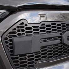 Raptor Grille zmodyfikowany Grill przedni zderzak Mesh pasuje do RANGER 2015 2018 T7 PX2 MK2 XL + XLS XLT Limited WILDTRAK furgonetki