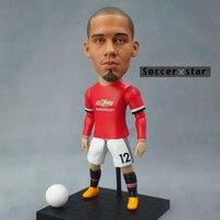 Soccerxstar Figurine Football Player Movable Dolls 12 SMALLING MU 2018 12CM 5in Figure BOX Include Accessories