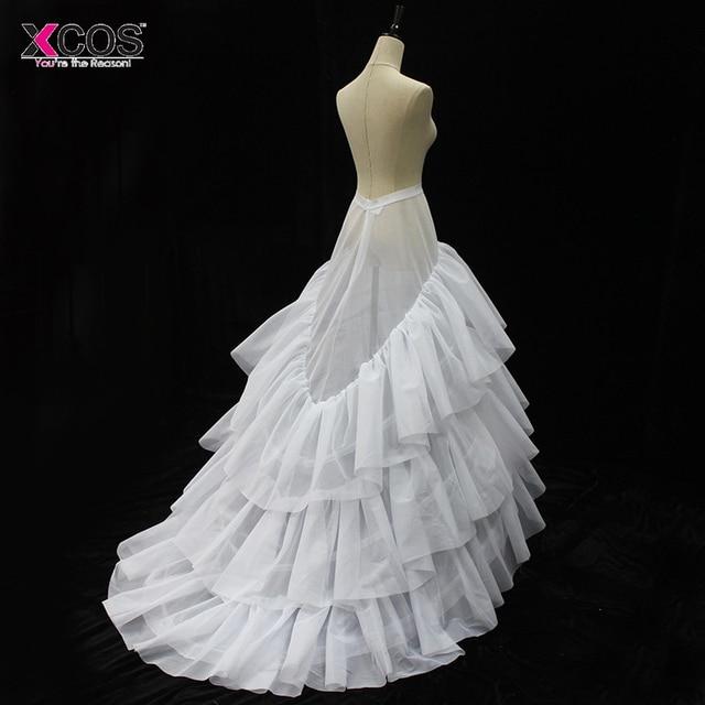 3 Aros Enagua de La Crinolina Enagua Blanca Enaguas del vestido de Bola  Barato Grandes Accesorios 7c580c25fcc6