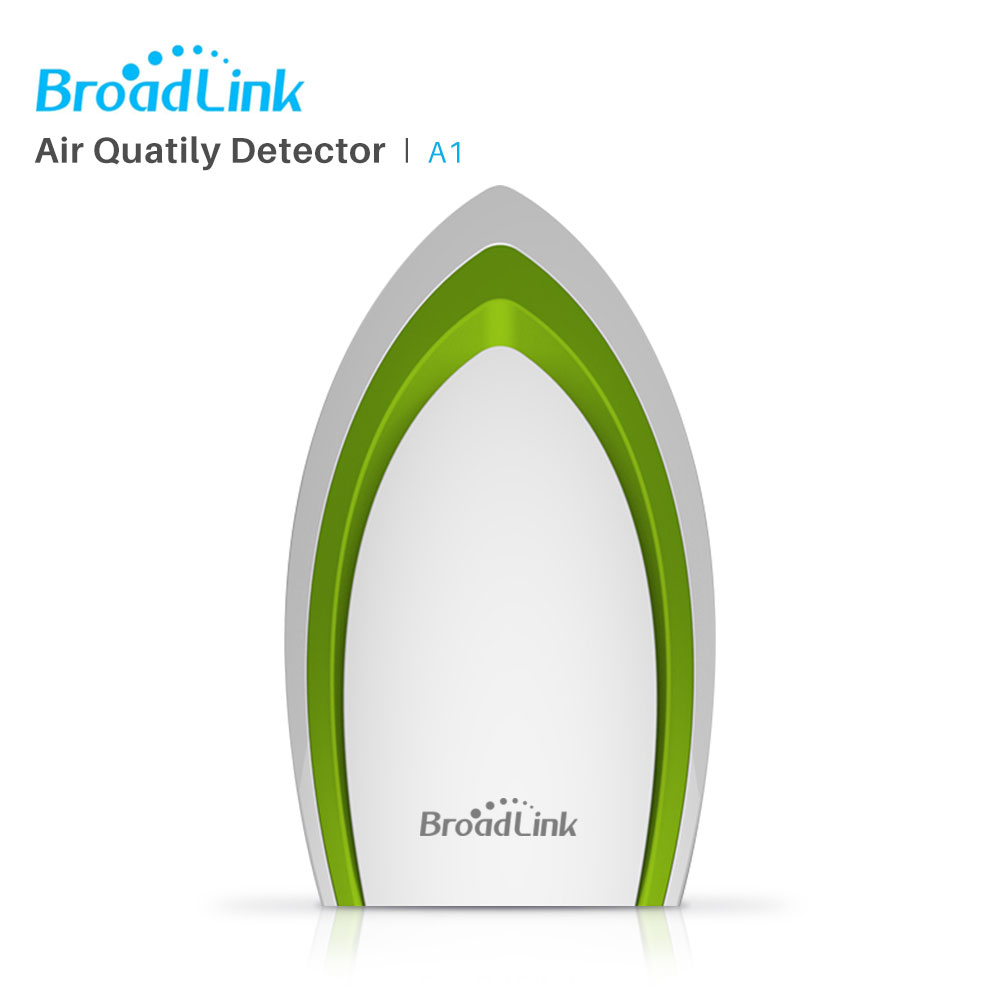 BroadLink A1 E-Air Environmental Monitor Detector Wireless Detect Temperature Humidity Noise PM2.5 VOC Via ios Android phone bruce logan e environmental transport processes