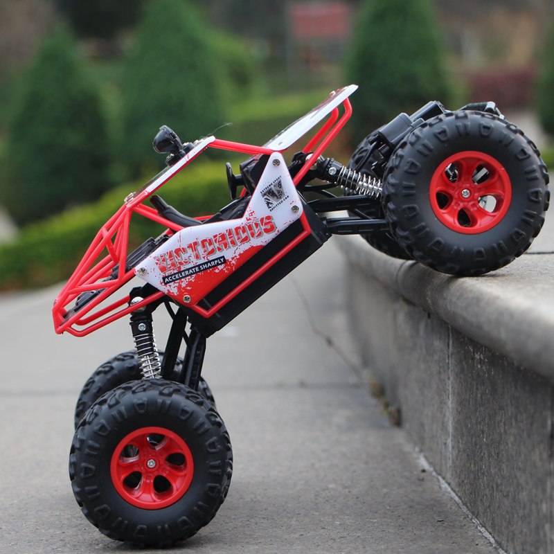 1:16 4WD Cars New Version 2.4G Radio Control RC Trucks Toys Buggy 2018 High speed Trucks Off-Road Trucks Toys for Children Gift