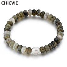 Женский браслет ручной работы chicvie очаровательный натуральный