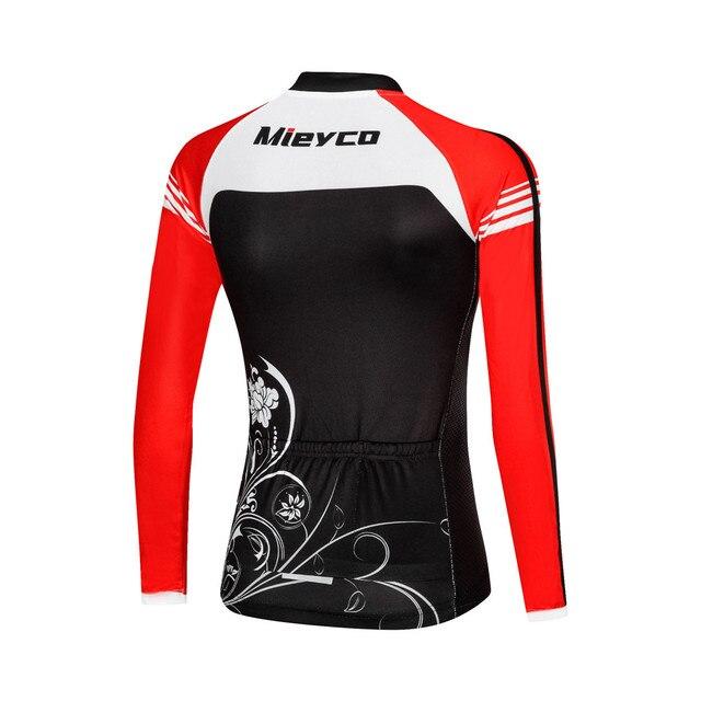 Mulheres Camisa de Ciclismo Mtb Bicicleta Roupas de Ciclismo Feminino Mangas Longas de Bicicleta de Estrada Roupas Menina Desgaste Ciclo Jersey 3