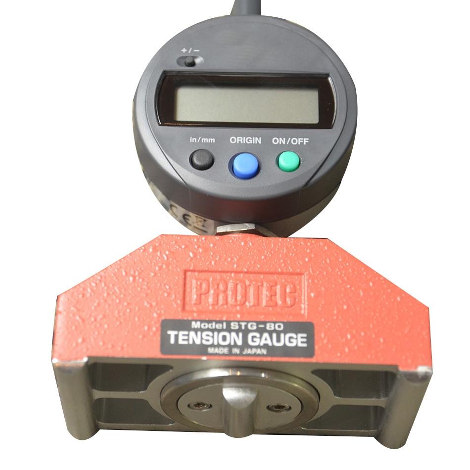 Japan STG 80D steel mesh tension meter PROTEC screen tension meter stg 80d tension measuring instrument in Force Measuring Instruments from Tools