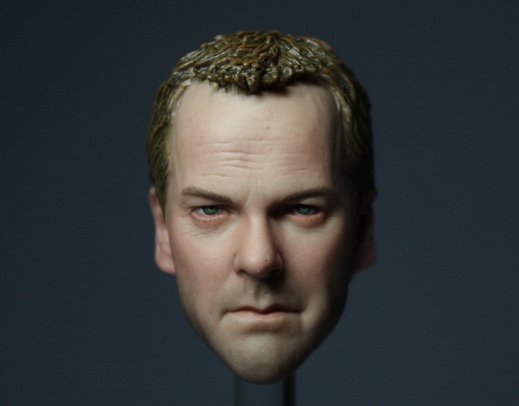 ФОТО 1/6 US drama 24hours Jack Bauer headsculpt Support HT for DIY 12inch doll Parts, Not include the body and clothes