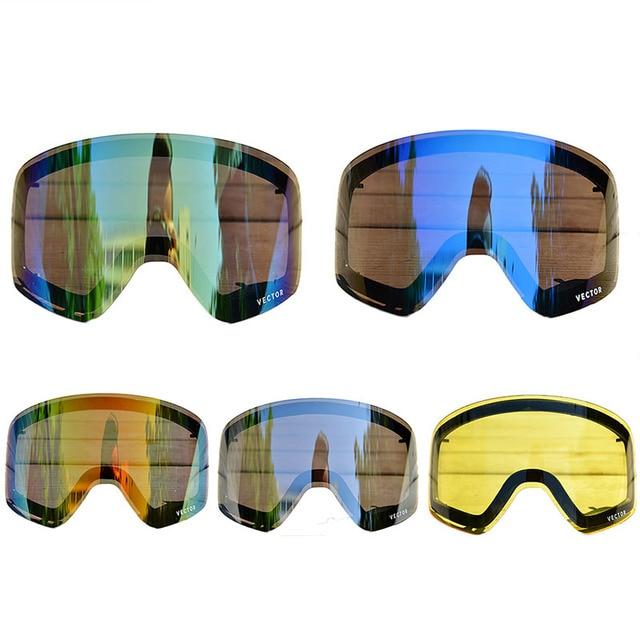 5d89877e897 Double Lens Ski Goggles Women Men Ski Glasses Winter Snowboard Eyewear  UV400 Anti-fog Ski Eyewear Professional Snow Goggles Lens