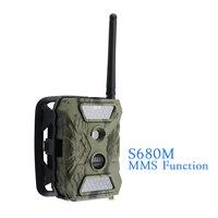1 PCS HD 1080P Widelife Scouting Camera Animals Flower Surveillance SIM Card MMS waterproof video recorder Hunting camera