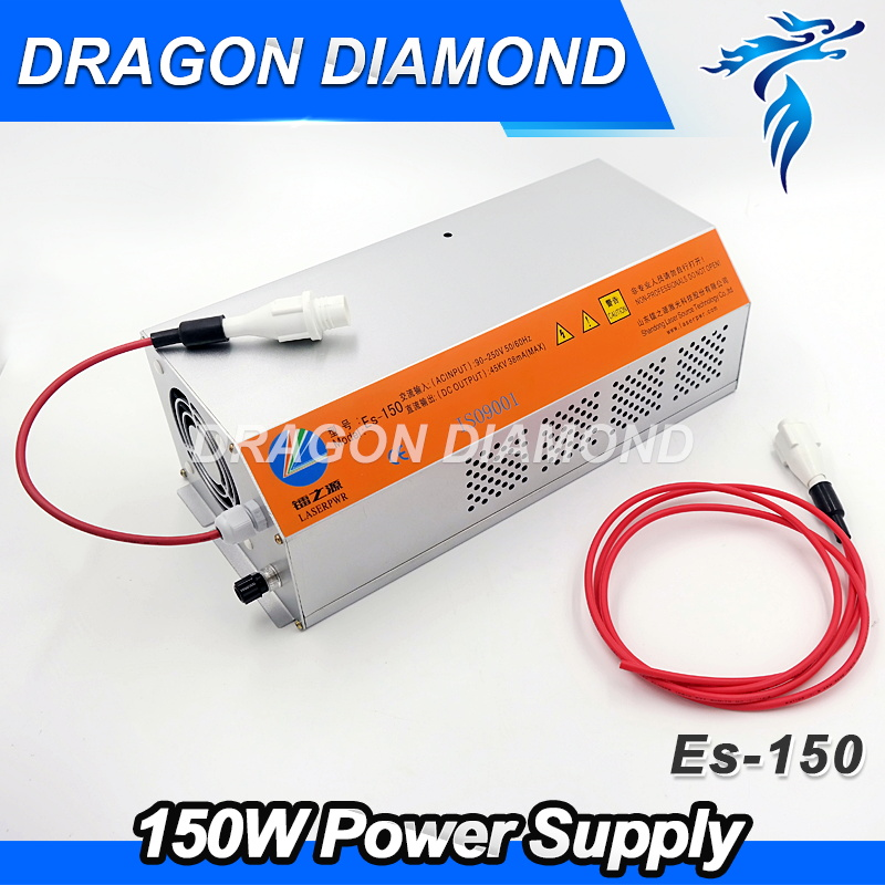 EFR 150W CO2 laser power supply ES150 for EFR laser tube laser cutting and engraving machine efr 150w