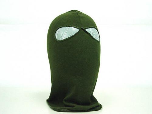 5pcs SWAT Balaclava Hood 2 Hole Head Face Mask Protector OD