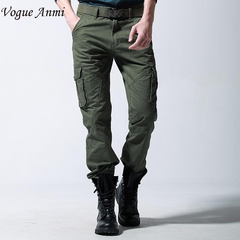 olive green cargo pants for men - Pi Pants