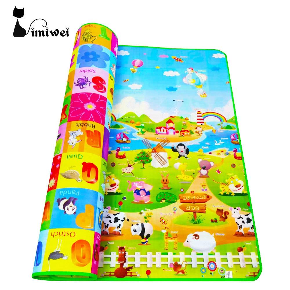 IMIWEI font b Baby b font Play Mats Mat For Kids Toys font b Baby b