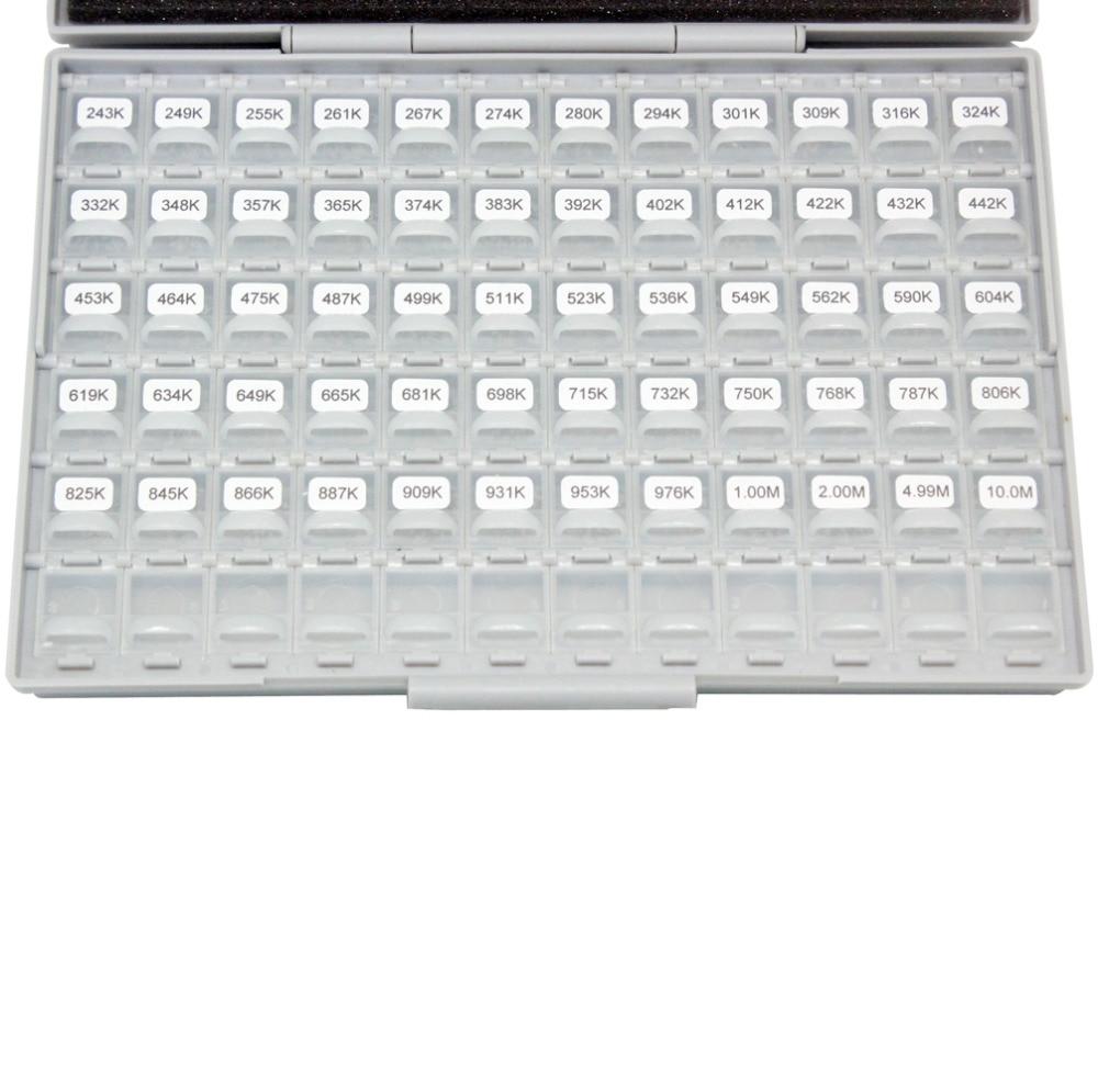 AideTek поверхностное крепление 0603 smd led1% E96 Резистор Комплект 492x100 pc ROHS распределен в 4 коробках-все этикетки пластиковые части коробки R06E96100