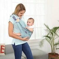 Canguru Envoltório Estilingue Do Bebê Portador de bebê Multifuncional de alta Qualidade Mochilas Para Crianças Recém-nascidas Crianças Estilingue Do Bebê Portador Envoltório 5 cores