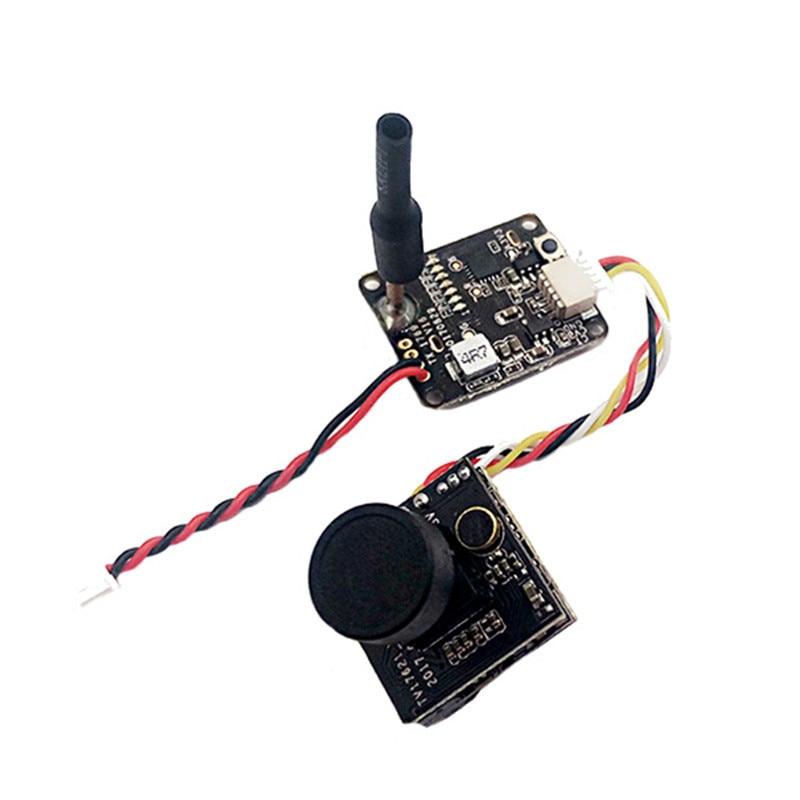 Turbowing 5.8G 48CH 0/25/200mW Transmitter & M7 700TVL 1/3 FOV 120 Degree HD DVR FPV Camera NTSC For FPV Racing Drone Dron